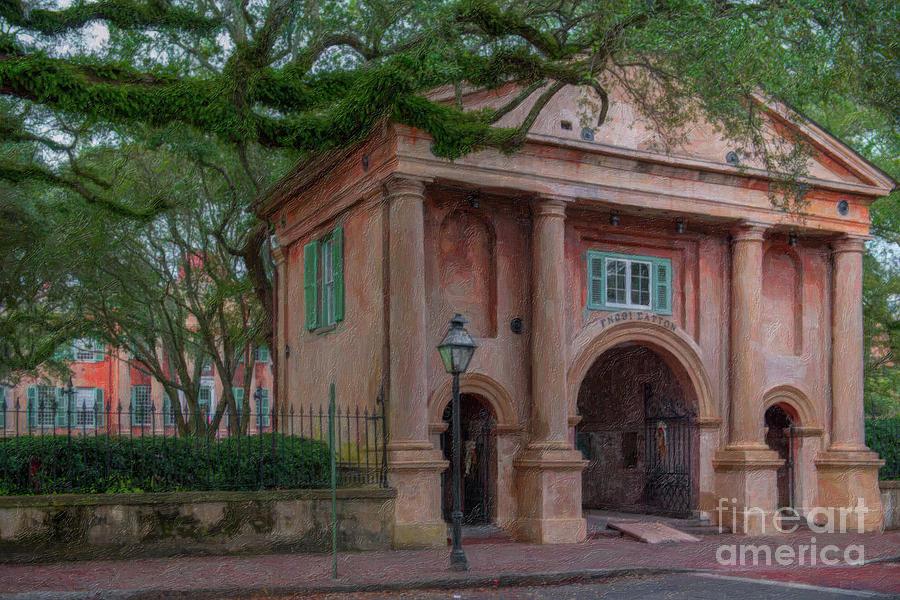 Porters Lodge - College Of Charleston Painting
