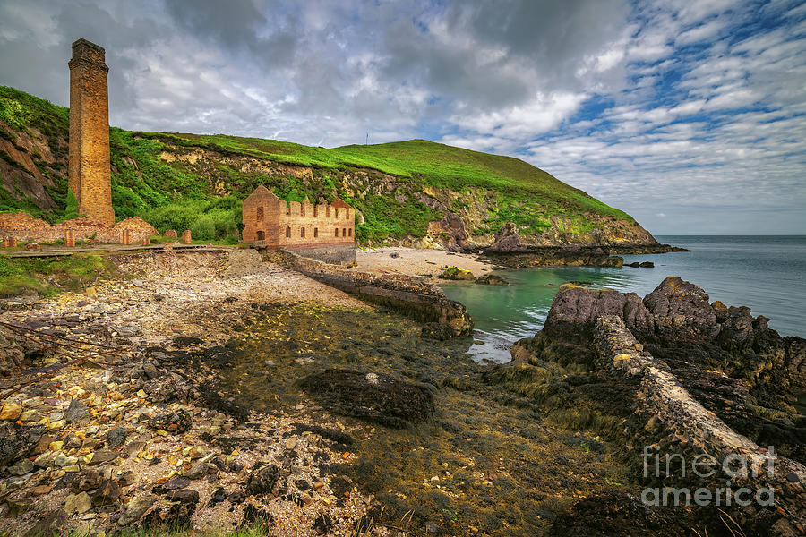 Porth Wen Brickworks Anglesey by Adrian Evans