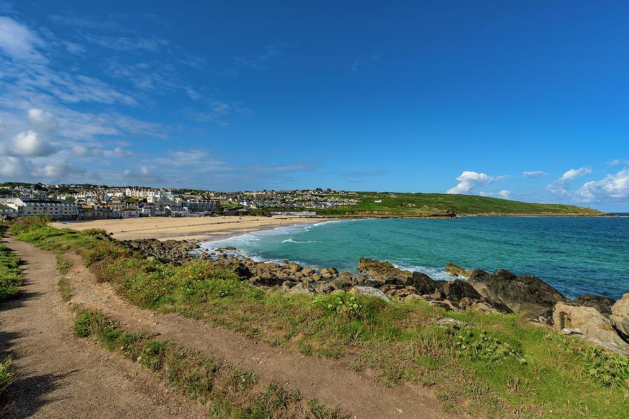 Porthmeor Beach - St Ives Cornwall by Eddy Kinol