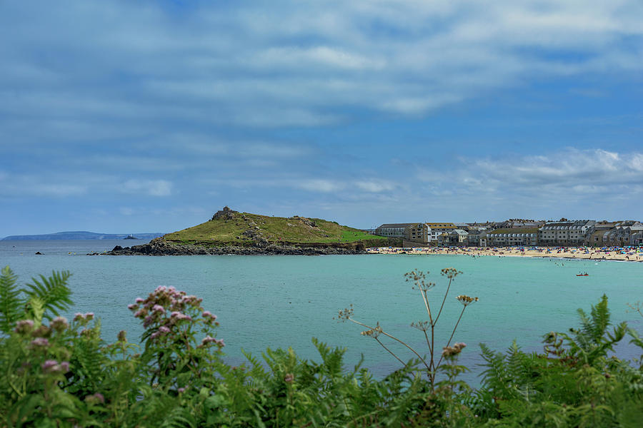 Porthmeor View on the Island by Eddy Kinol