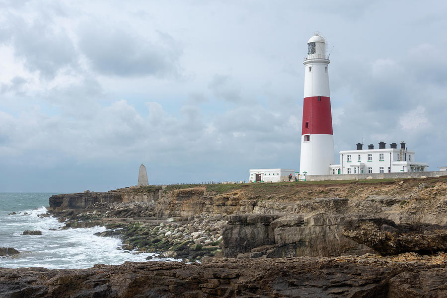 Portland Bill Photograph - Portland Bill by Steev Stamford