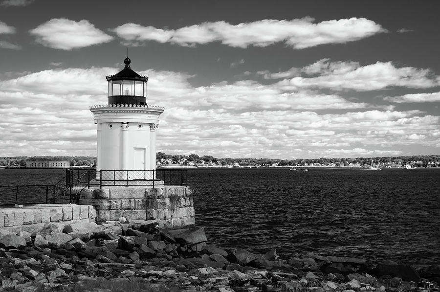Portland Breakwater Light by Todd Henson