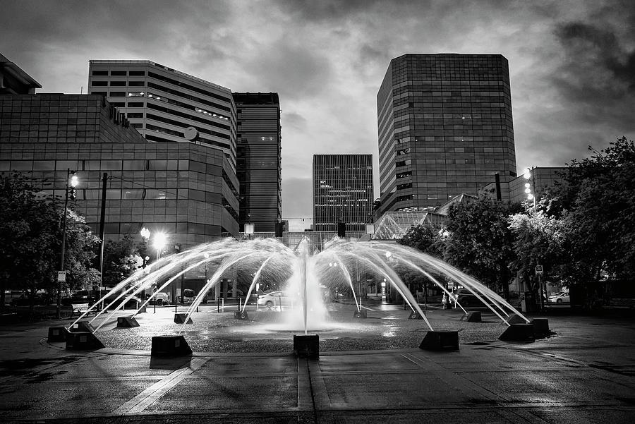 Portland Fountains by Steven Clark