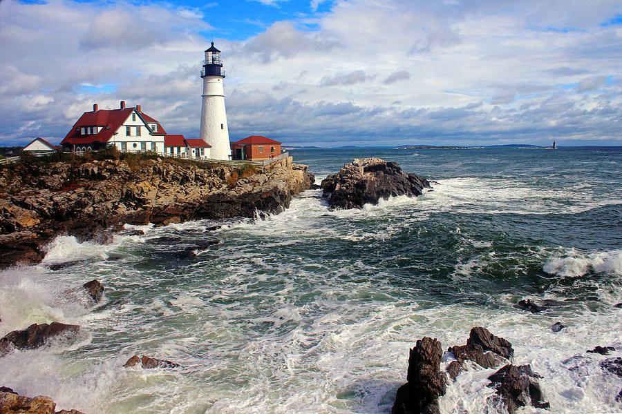 Portland Head Lighthouse Photograph by Jeremy Dentremont, Www.lighthouse.cc