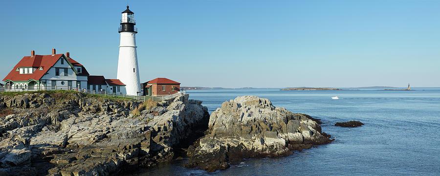Portland Head Lighthouse Photograph by S. Greg Panosian