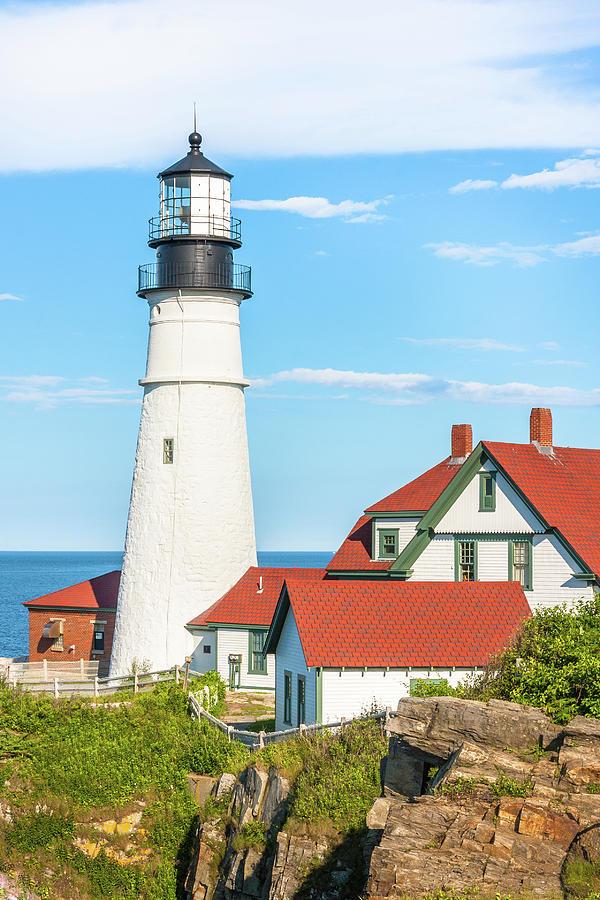 Portland Head Lighthouse by Susan Leonard