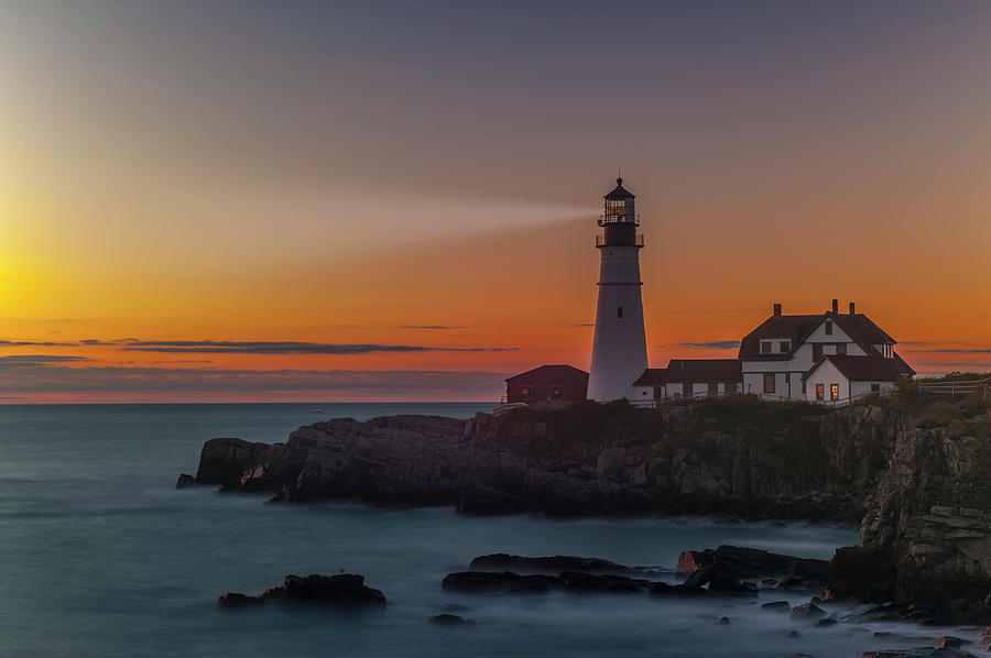 Portland Headlight by Rick Hartigan