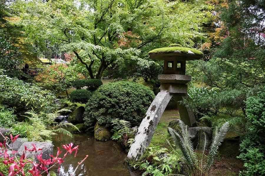 Portland Japanese Garden 18 Photograph By David Griffith