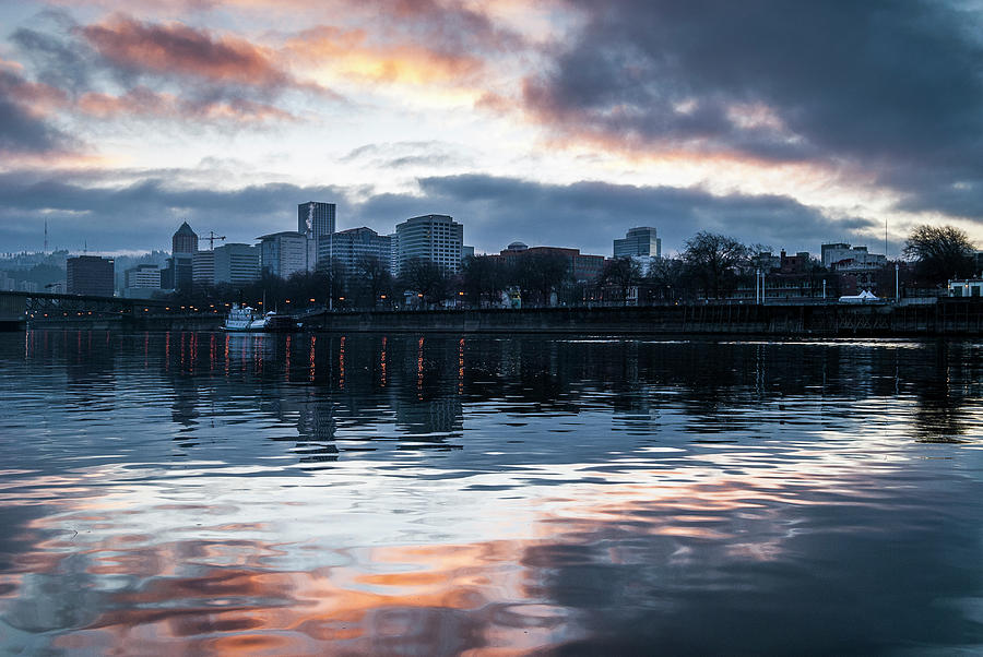 Portland Skyline by Robert Potts