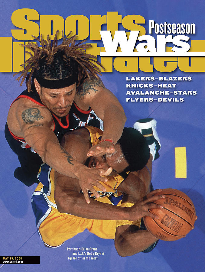 Portland Trail Blazers Brian Grant, 2000 Nba Western Sports Illustrated Cover Photograph by Sports Illustrated