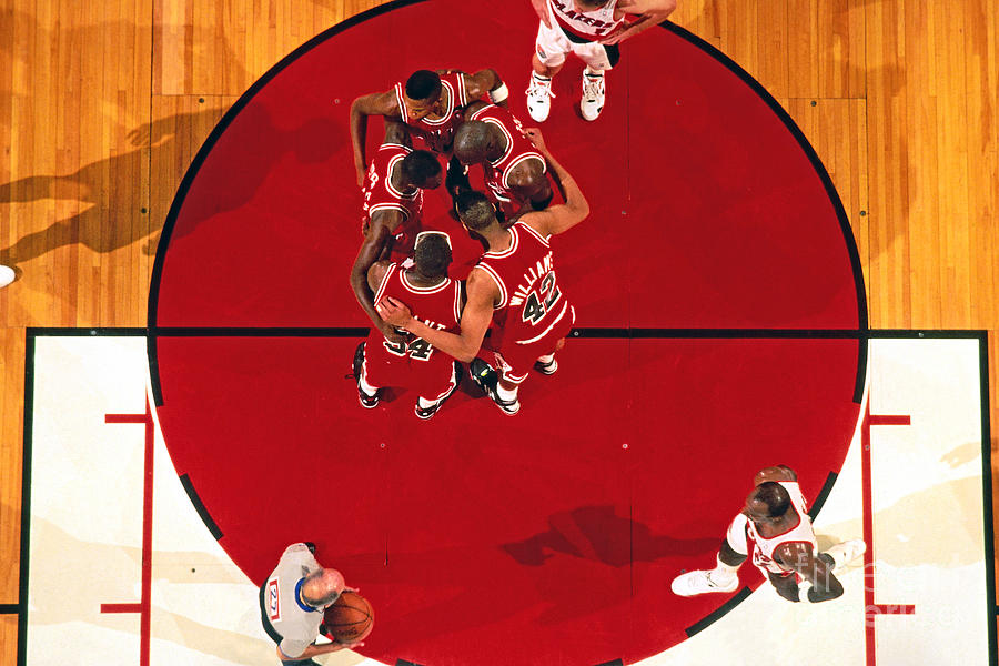 Portland Trailblazers Vs. Chicago Bulls Photograph by Brian Drake