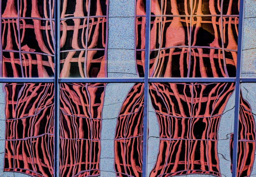 Portland Window Reflections by Jean Noren