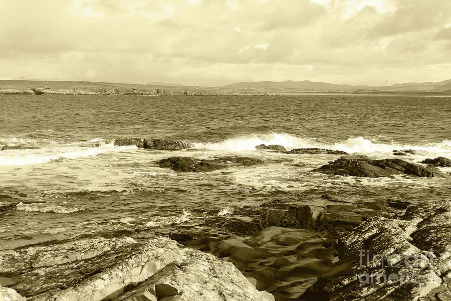Portnoo Coastline Donegal Tint by Eddie Barron