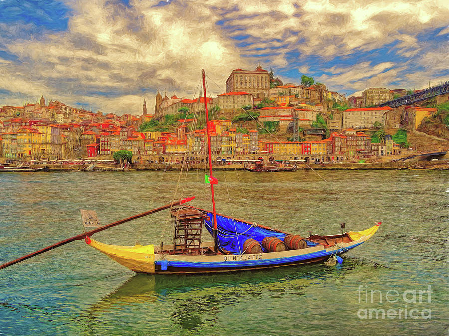 Porto 41 Across the river by Leigh Kemp