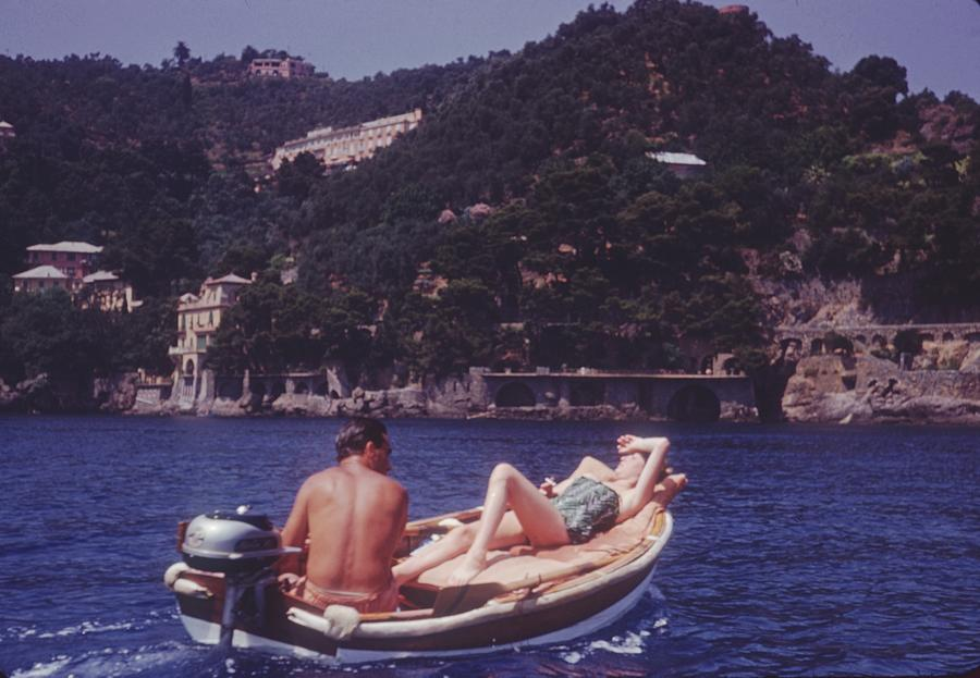 Portofino Boat Ride Photograph by Thurston Hopkins
