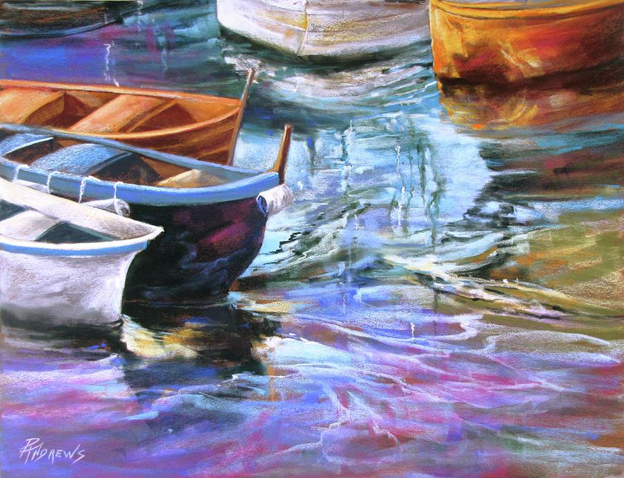 Seascape Painting - Portofino Glory by Rae Andrews