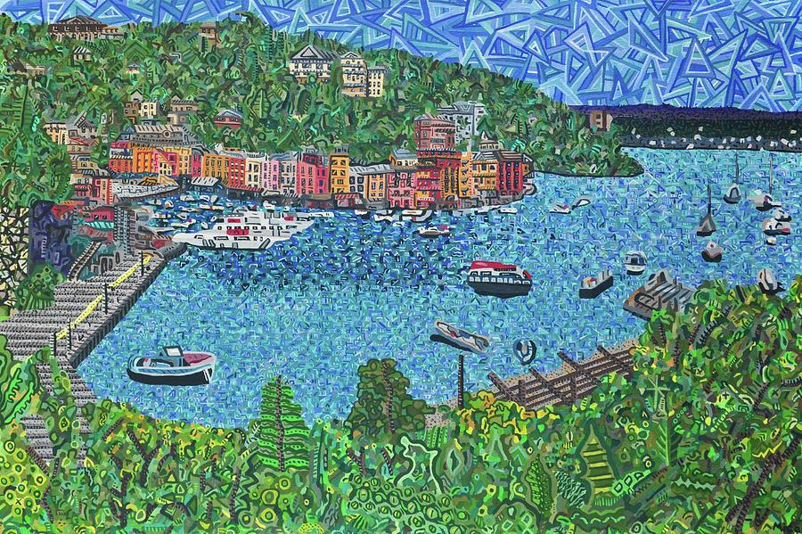 Portofino, Italy 2 by Micah Mullen