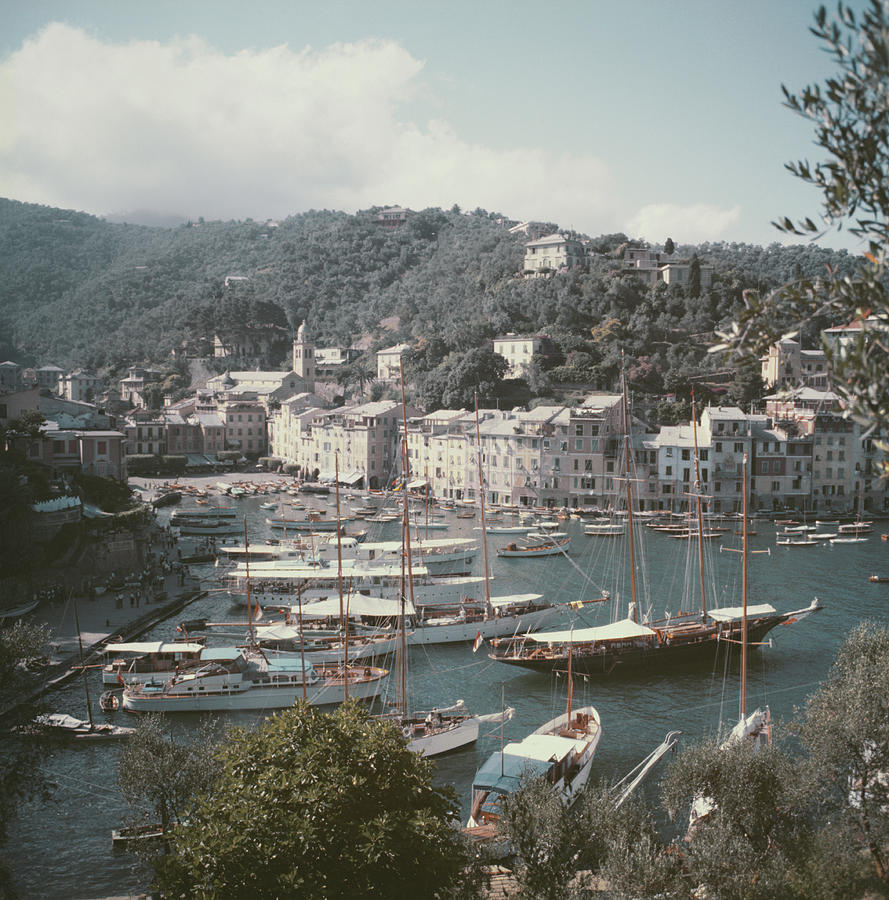 Portofino Photograph by Slim Aarons
