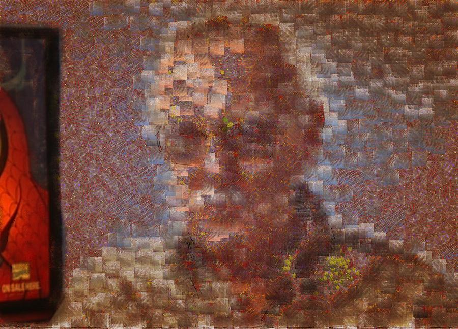 Portrai Stan Lee by Mario Carini