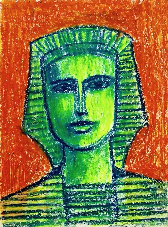 Portrait by Asha Sudhaker Shenoy