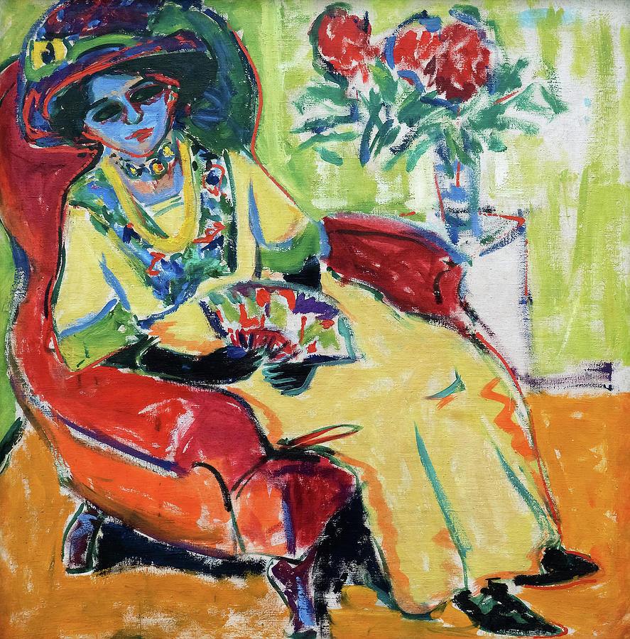 Ernst Ludwig Kirchner Painting - Portrait Dodo - Digital Remastered Edition by Ernst Ludwig Kirchner