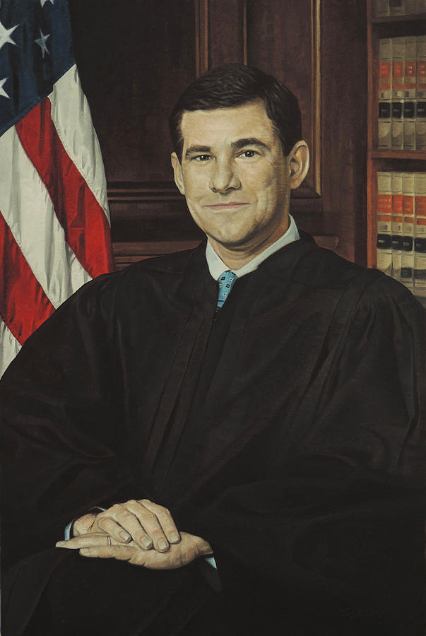 Portrait of a Judge by T S Carson