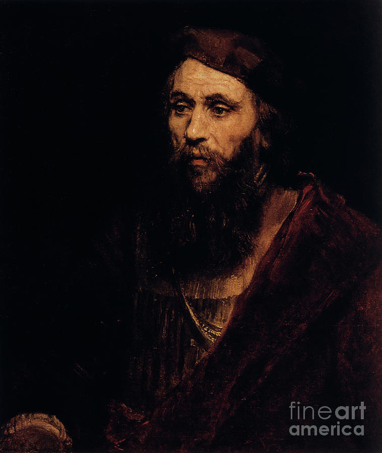 Portrait Of A Man, 1661. Artist Drawing by Print Collector