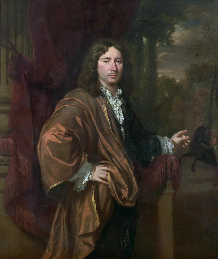 Portrait of a Man, 1685 by Jan Verkolje