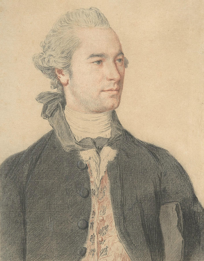 Portrait of a Man by Jean-Etienne Liotard