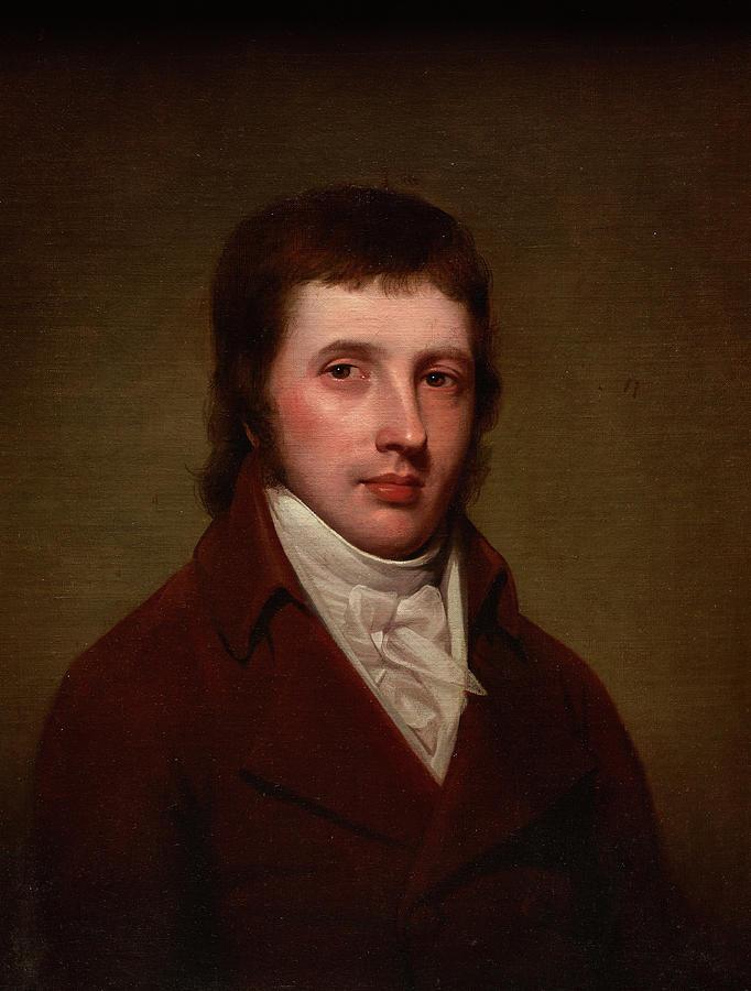 Portrait Of A Man Painting - Portrait Of A Man by Rembrandt Peale