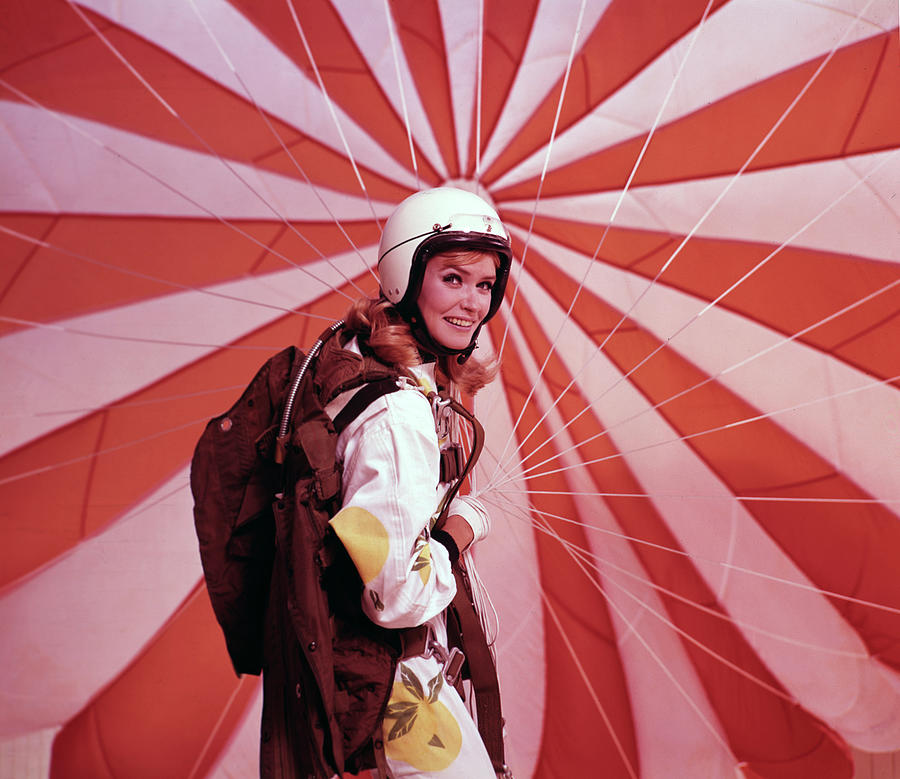 Portrait Of A Parachuter Photograph by Tom Kelley Archive