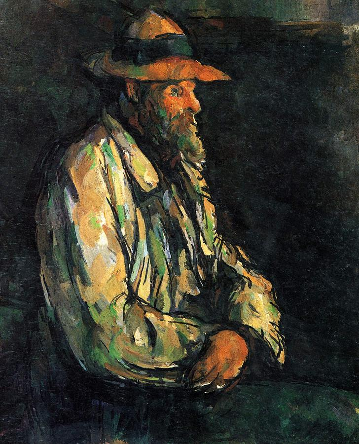 Portrait Of A Peasant 1906 Painting