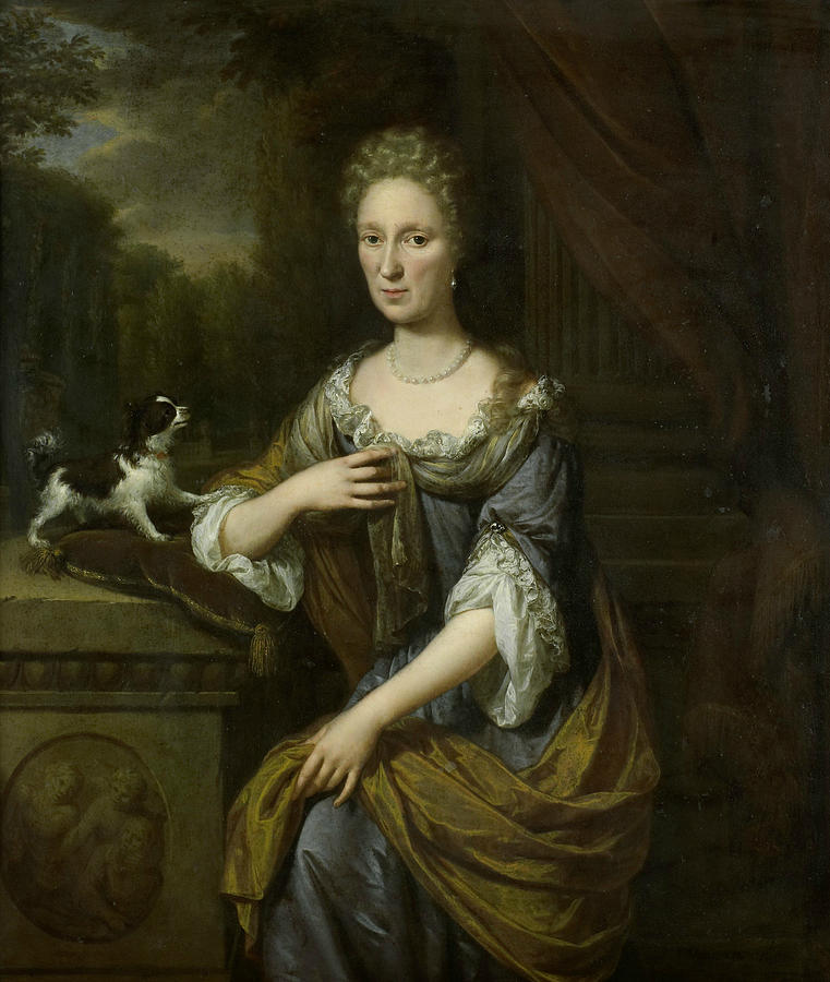 Portrait of a Woman by Jan Verkolje