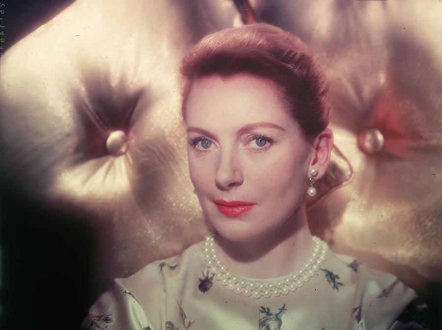 Portrait Of Actor Deborah Kerr Photograph by Hulton Archive