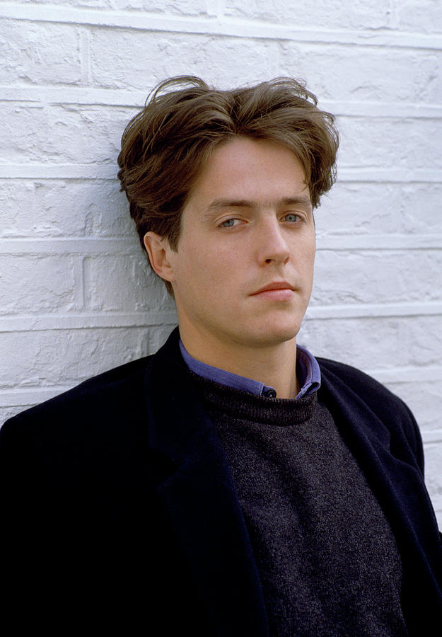 Portrait of actor Hugh Grant by Shaun Higson