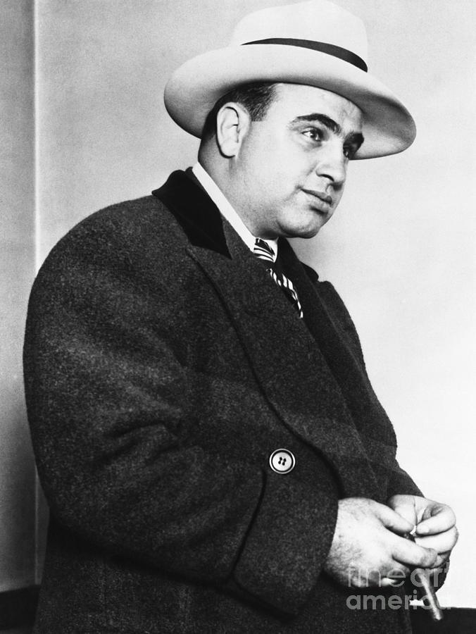 Portrait Of Al Capone Photograph by Bettmann