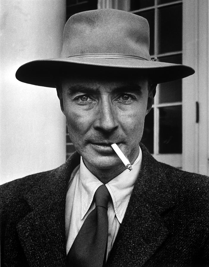 Portrait Of American Physicist J Photograph by Alfred Eisenstaedt