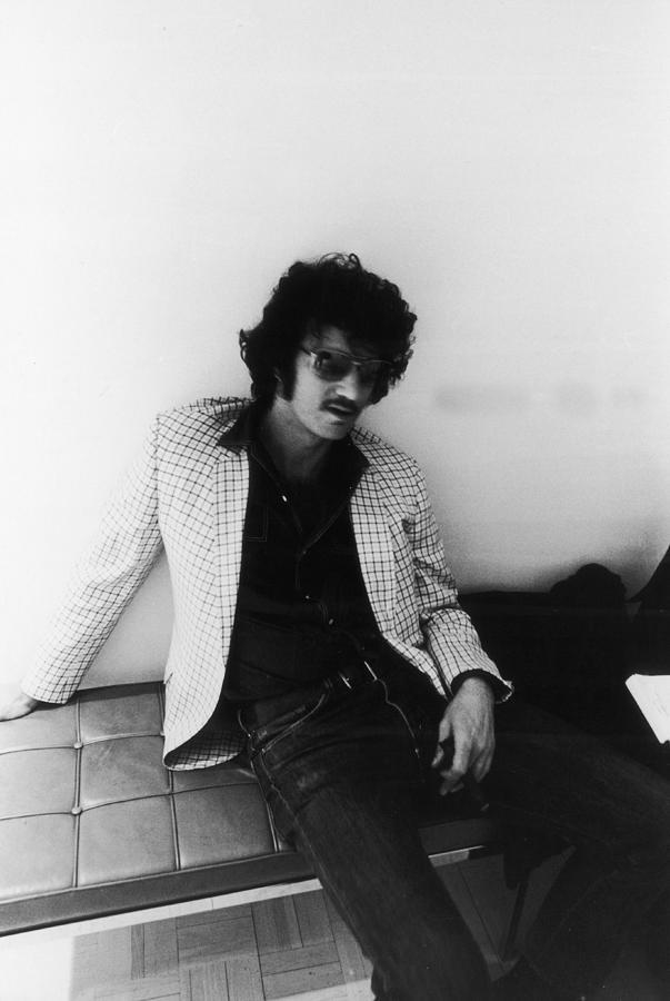 Portrait Of Artist Larry Bell Photograph by Fred W. McDarrah