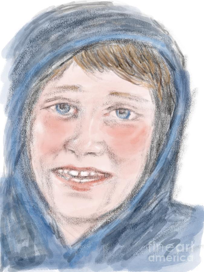 Portrait of Christopher by Joan-Violet Stretch