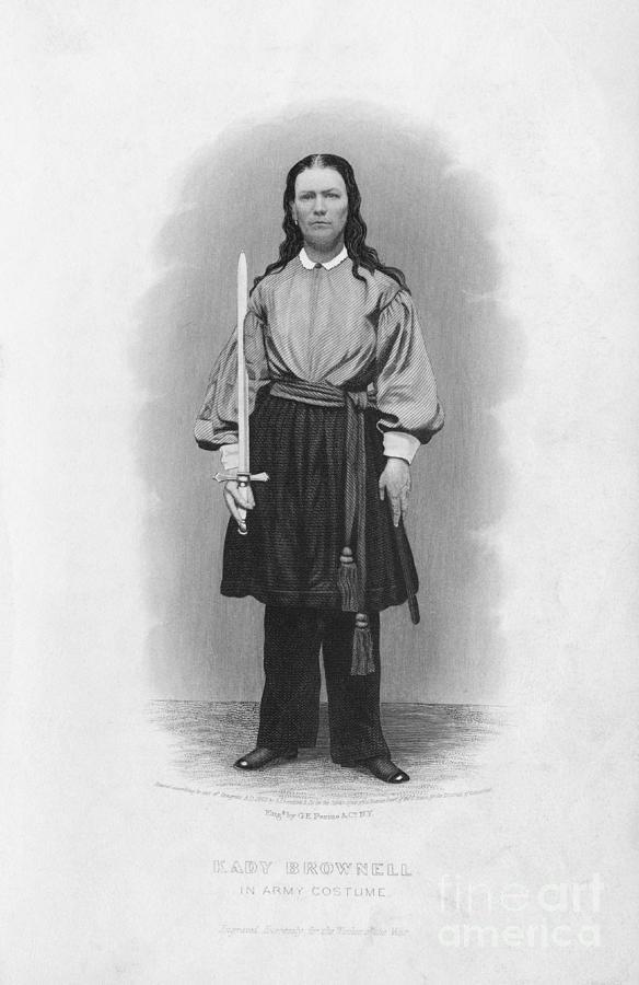 Portrait Of Civil War Soldier Kady Photograph by Bettmann