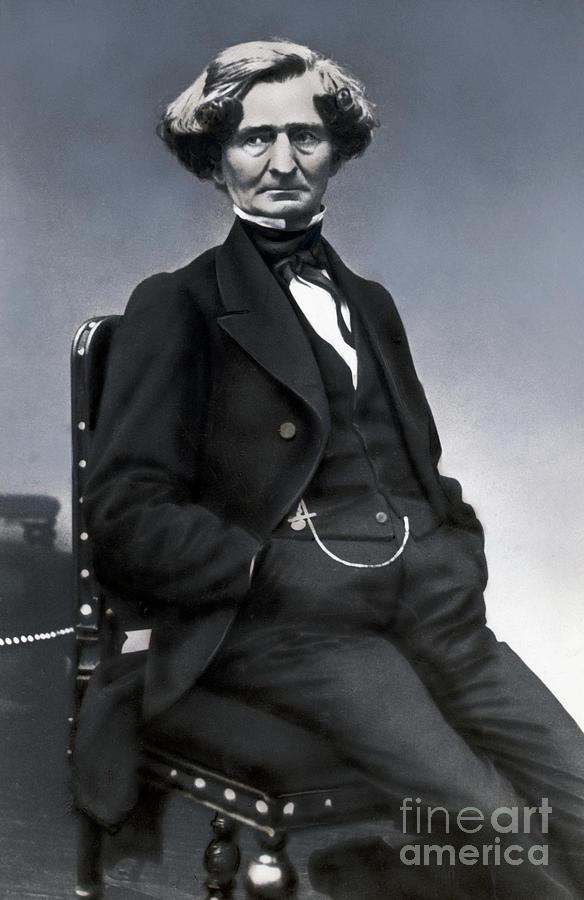 Portrait Of Composer Hector Berlioz Photograph by Bettmann
