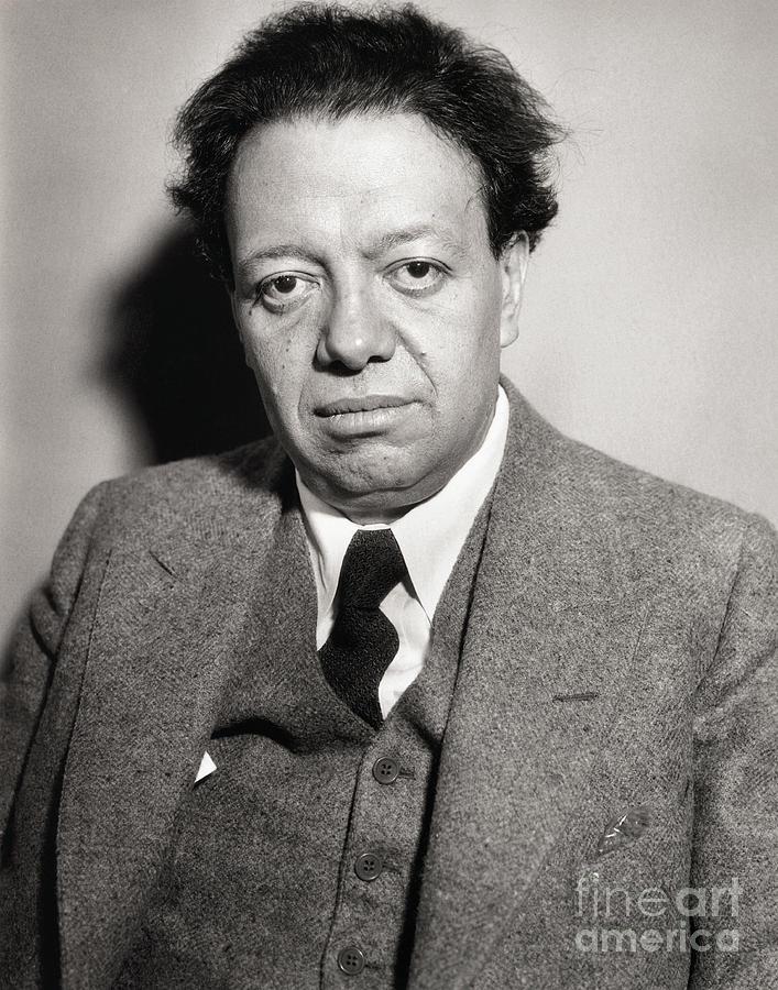 Portrait Of Diego Rivera Photograph by Bettmann