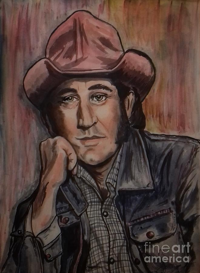 Portrait of Don Williams 2 by Joan-Violet Stretch