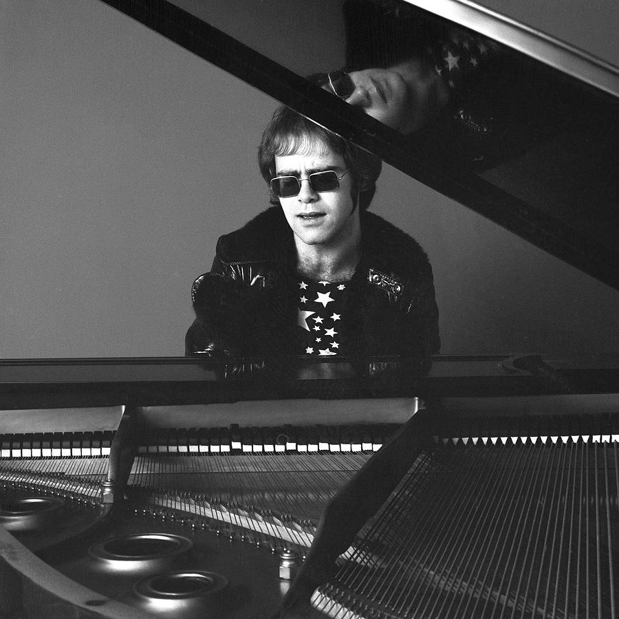 Portrait Of Elton John Photograph by Jack Robinson