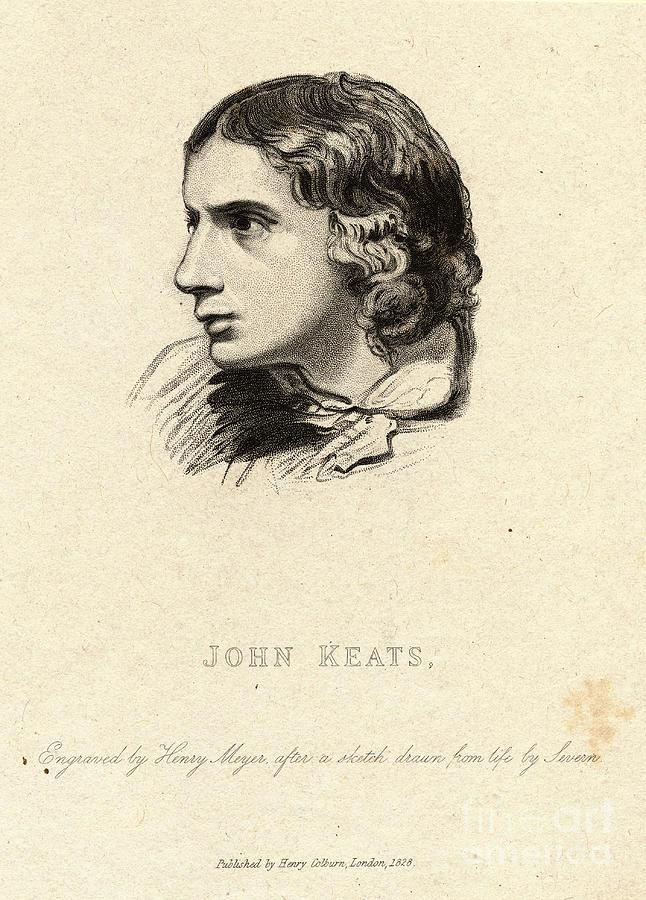 Portrait Of English Poet John Keats Photograph by Bettmann