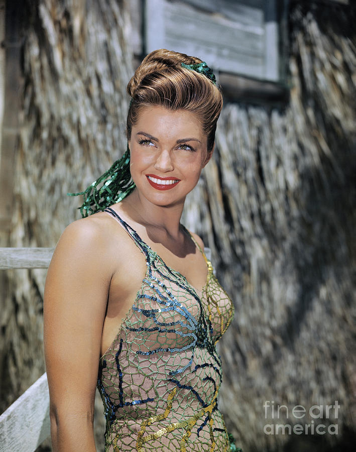 Portrait Of Esther Williams Photograph by Bettmann