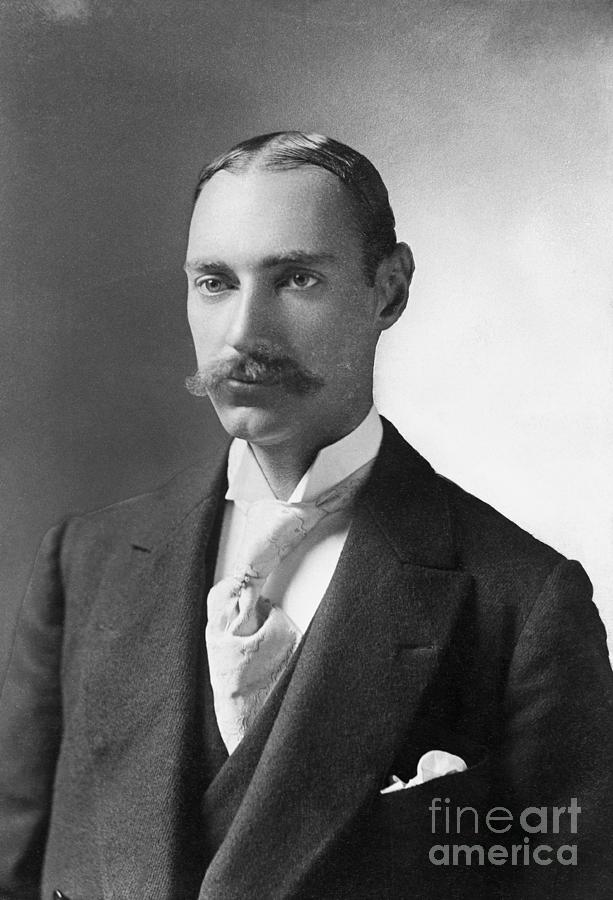 Portrait Of Financier John Jacob Astor Photograph by Bettmann