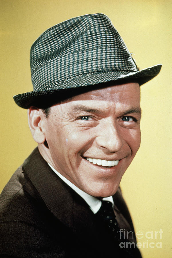 Portrait Of Frank Sinatra Smiling Photograph by Bettmann