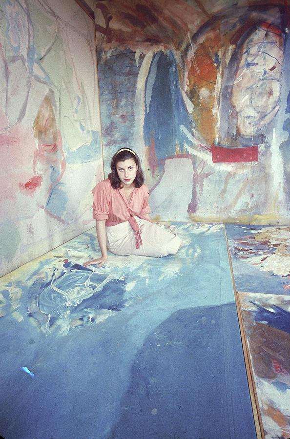 Portrait Of Helen Frankenthaler Photograph by Gordon Parks