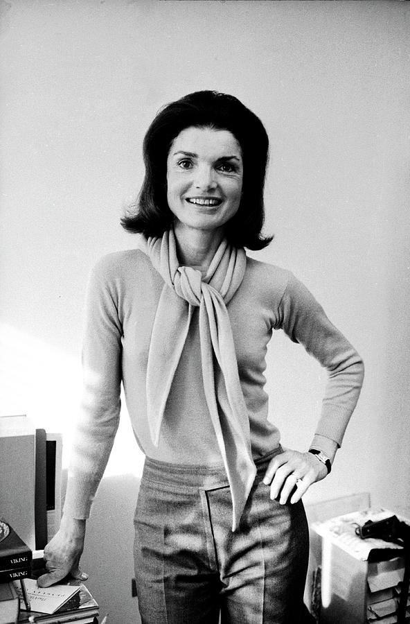 Portrait Of Jackie Onassis Photograph by Alfred Eisenstaedt